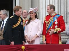 Kate Middleton Wears Baby Pink Alexander McQueen for Queen Elizabeth's Birthday Parade