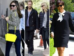 Miranda Kerr, Kris Jenner, Gwyneth Paltrow and Chris Martin Lead Today's Star Sightings